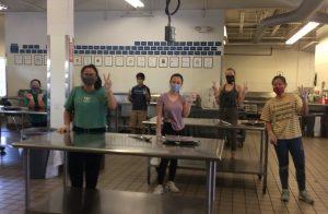 Volunteer with Burrito Brigade